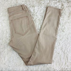 H&M Taupe Skinny Jeans Sz 6 Stretch Jegging